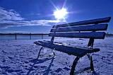 Winter- bench