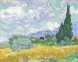 Vincent van Gogh - Wheat Field with Cypresses (National Gallery