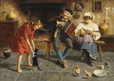 """""""An Old Melody"""" - Eugenio Zampighi"""