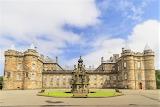 Exterior Palace of Holyroodhouse Edinburgh Scotland