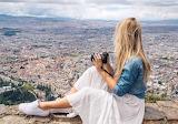 Photo au dessus de la ville