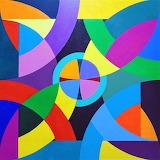 geometric flower, Steve Conroy