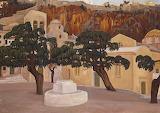 Κωνσταντίνος Μαλέας, Walls of Monemvasia, 1920's