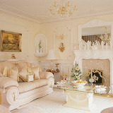 Ornate living room