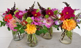 Country flower bouquets