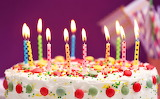 #Lit Birthday Cake