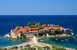 Small but Heavily Occupied Island Montenegro