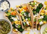 Vegetarian Grilled Corn Tacos