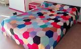 Color Crochet Bedspread