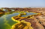 Danakil Depression hot springs