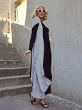 TEYXO Long Sleeve Hand Made Maxi Dress