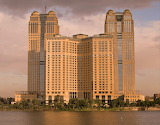Nile city towers cairo egypt