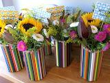 Цветы и карандаши