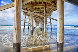 Under Newport Pier by Rosanne Nitti