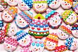 #Colorful Christmas Cookies
