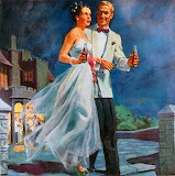 Stepping Out ~ vintage Coca-cola ad 1947