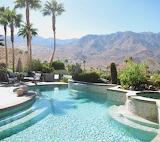Luxury pool Palm Springs USA