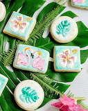 Tropical cookies @ Every Last Detail