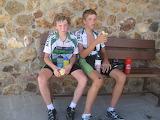 boys cyclists