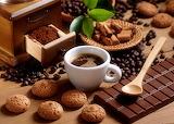Food, chocolate, coffee, cup, grain, cookies, chocolate bar
