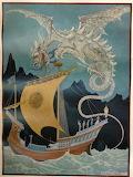"Dragon tumblr enchantedbook ""Anton Pieck"" Ship"