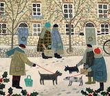 ^ The Snowy Street ~ Vanessa Bowman