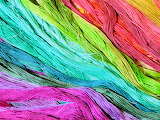 Rainbow of threads