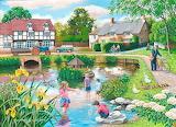 Duck Pond by Keith Stapleton...