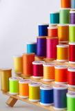 Colorful thread