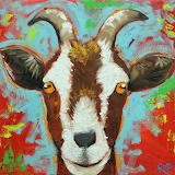 Goat by Rosilyn Young