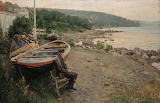 View from Asgardstrand by Hans Heyerdahl 1887