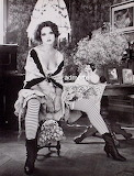 Vintage Flapper Girl Pin-up Poster -01