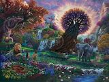 Garden of Eden by Thomas Kinkaide