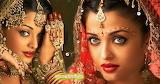 Bollywood actress aishwarya rai bridal saree