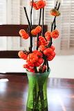 ^ Pumpkin tree aka Stick Eggplant bouquet