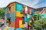 Coloured houses, La Boca