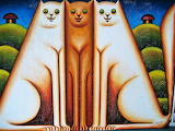 three cats, Reinaldo Tamayo