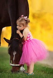 A Little Girl & Her Horse