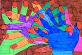Abstracción de manos