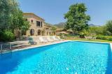 luxury mediterranean rustic style villa