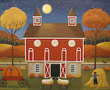 Pennsylvania Dutch Hex Barn - Mary Charles