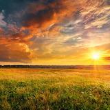Sun on the prairie
