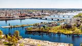 Riga Latvia Bridges