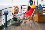 tourists on arctic cruise