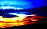 Sunset nature splendor beautiful scenery high contrast hd-wallpa
