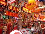 Retro Gas Signs