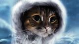 Animals-cat-painting