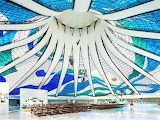 Cathedral of Brasilia Interior GettyImages