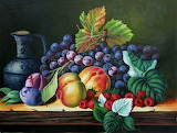 Fruit for Life - oil painting by Fidzi Community Artist Group