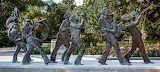 Jazz Musician Statues, Louis Armstrong Park